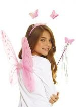 Set Papillon Rose Enfant
