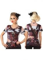 Tee Shirt Photo réaliste Steampunk