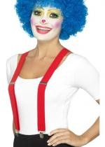 Bretelles De Clown Rouges