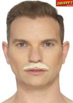 Moustache Professionnelle Blonde