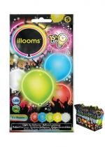 Sachet 5 Ballons Led Multi
