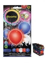 Sachet De 5 Ballons Led Multi