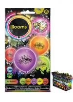Sachet De 5 Ballons Led Happy Birthday