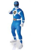 Seconde Peau Power Rangers Bleu