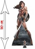 Figurine Géante Carton Wonder Woman