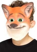 Masque De Renard Orange Enfant