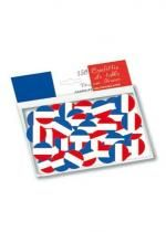 Sachet 150 Confettis De Table Drapeau France