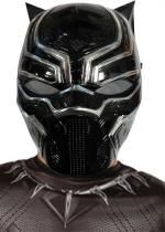 Demi Masque Enfant Pvc Black Panther