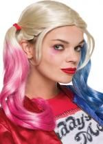 Perruque Licence Harley Quinn Suicide Squad