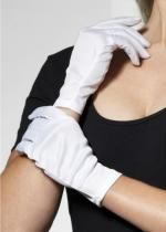 Gants Polyester Adulte Blancs