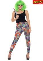 Leggings De Clown Maléfique
