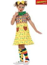 Déguisement Enfant Fille Clown Multicolore