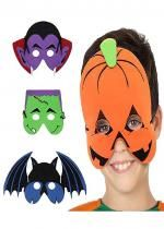 Masque Halloween Enfant En Mousse Eva