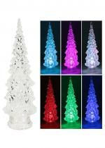 Sapin Led Couleurs Assorties 22Cm