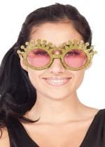 Lunettes Couronne Reine Or