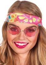 Lunettes Rondes Hippie Rose