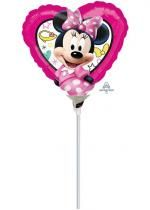 Ballon Foil Coeur Minnie Happy Helpers