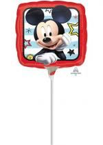 Ballon Foil Carre Mickey Roadster Racers