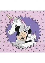 Paquet De 20 Serviettes Minnie Licorne