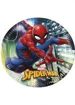 Paquet De 8 Assiettes Spiderman Team Up