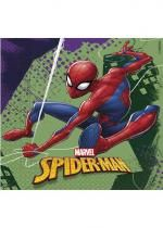Paquet De 20 Serviettes Spiderman Team Up