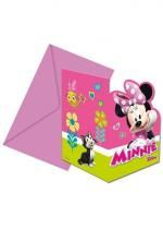 Minnie Invitation X6