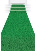 Tapis Décor Imprime Herbe Polyester