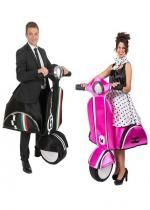 Couple Scooter Italien