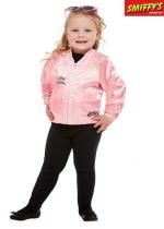 Veste Grease Pink Ladies Rose Avec Logo