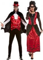 Couple Des Vampires Halloween