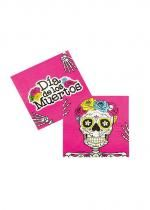Paquet 12 Serviettes Day Of The Dead 33X33 Cm