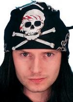 Bandana de Pirate Noir