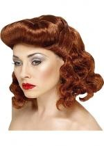 Perruque Pin Up Rousse