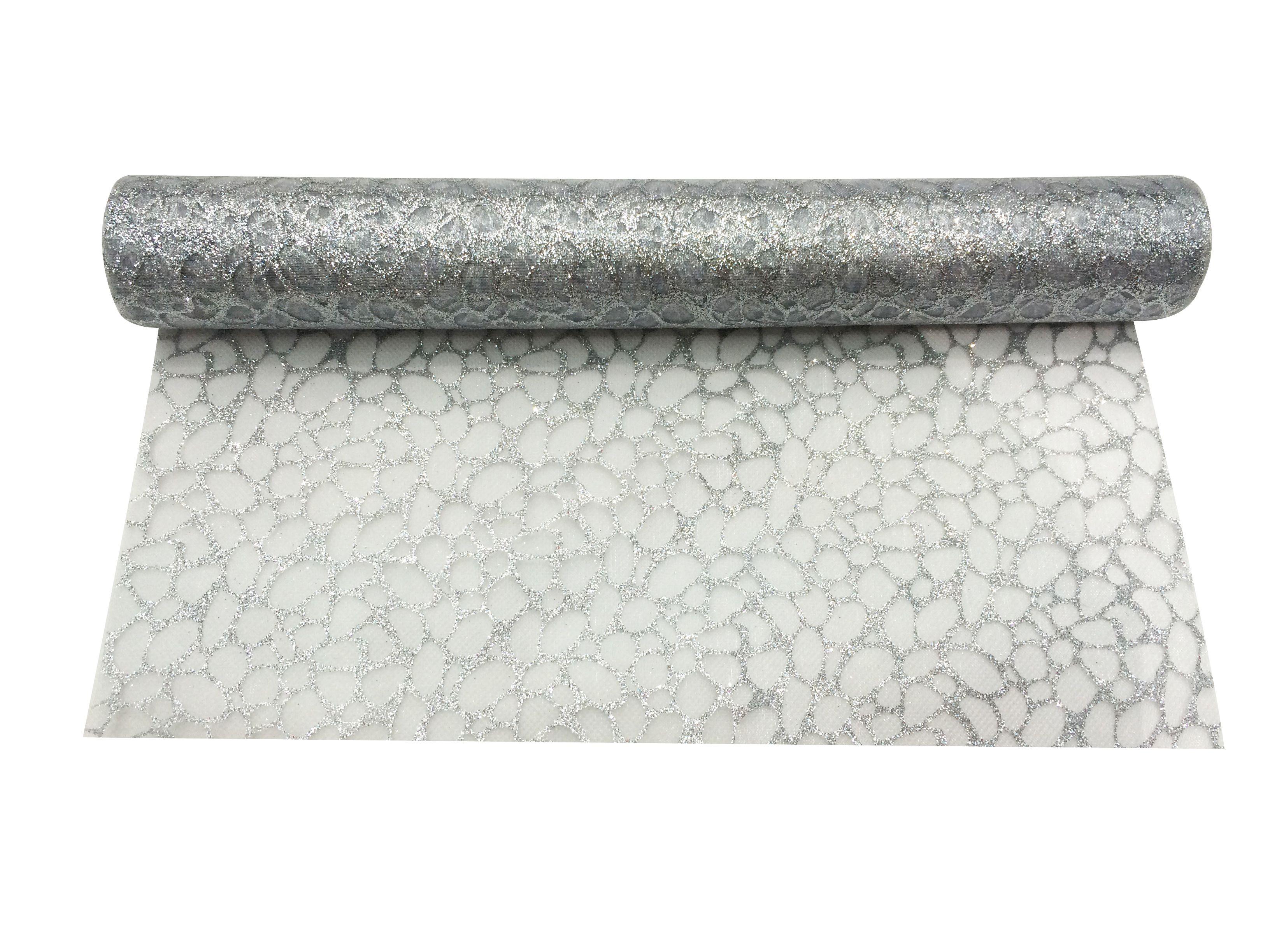 chemin de table rouleau organza 30 cm x 5 m articles de f te vaisselles jetables le. Black Bedroom Furniture Sets. Home Design Ideas