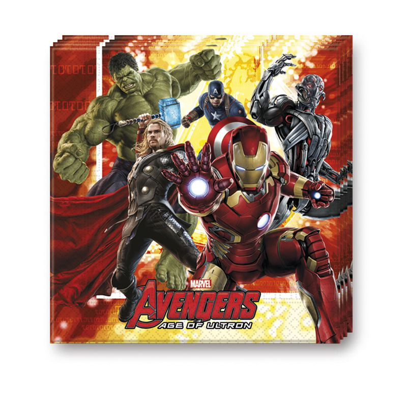 vaisselle jetable avengers age of ultron articles de f te vaisselles jetables le. Black Bedroom Furniture Sets. Home Design Ideas