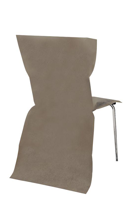 sachet de 6 housses de chaise non tisse le. Black Bedroom Furniture Sets. Home Design Ideas