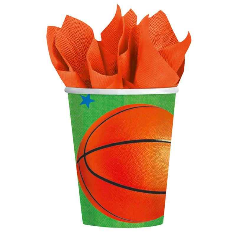 vaisselle jeter basketball articles de f te vaisselles jetables le. Black Bedroom Furniture Sets. Home Design Ideas