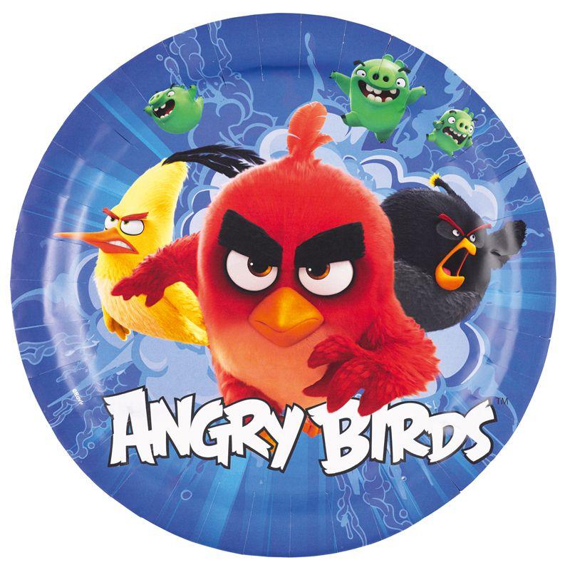 vaisselle jeter angry birds articles de f te vaisselles jetables le. Black Bedroom Furniture Sets. Home Design Ideas