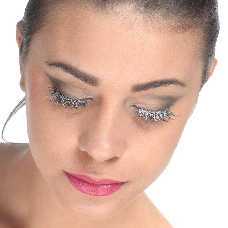 faux cils noir irise pointe maquillage faux cils yeux le. Black Bedroom Furniture Sets. Home Design Ideas