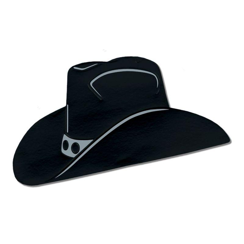 d cor carton chapeau cow boy 48 cm d corations western. Black Bedroom Furniture Sets. Home Design Ideas
