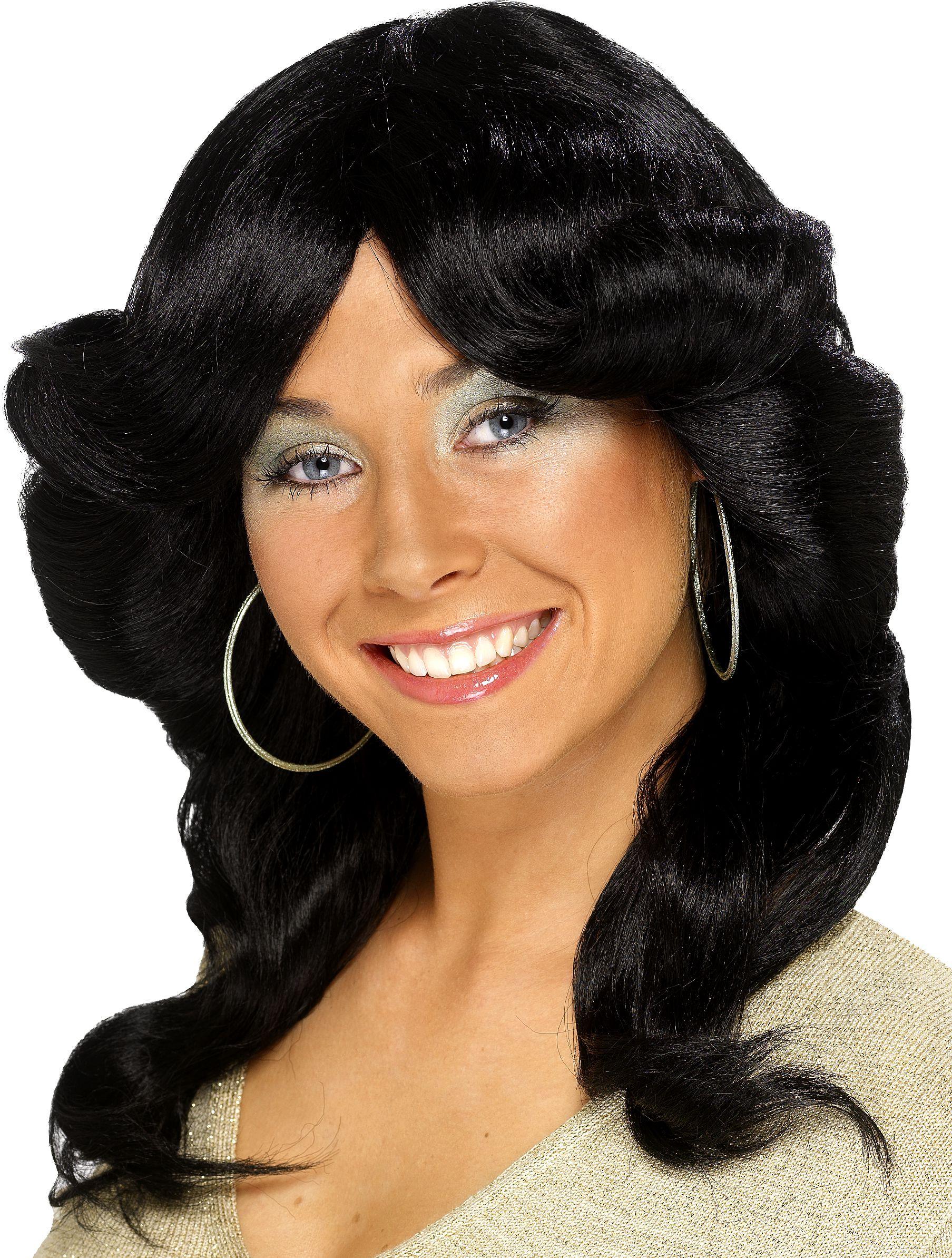 Perruque Femme Farraw Noire - Perruques Femmes