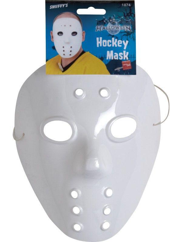 masque hockeyeur blanc masques adultes le. Black Bedroom Furniture Sets. Home Design Ideas