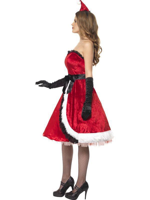 Noel deguisement de noel robe de noel robe pas chere mere for Robe de noel rouge