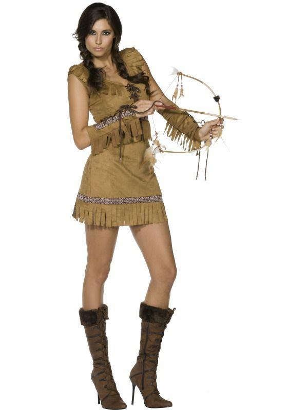 Adulte Pocahontas Deguisement Costume De Le Sexy twZROnqx
