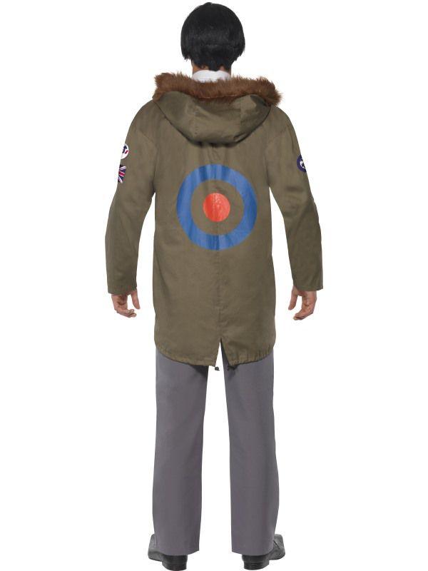 Vestes annees 1970 39 s avec insignes deguisement adulte manteau et veste le - Veste annee 80 ...