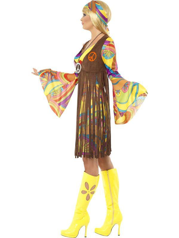 Tenue Années 1960 Groovy Lady - Deguisement Adulte Femme Tailles Xl Le Deguisement.com