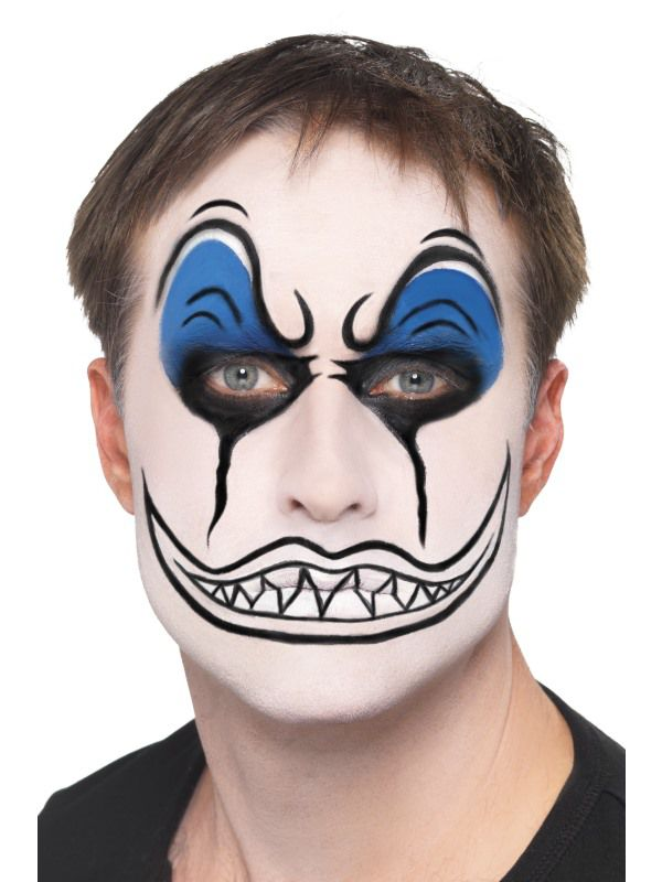 Set Maquillage Clown Mechant Maquillage Halloween Le