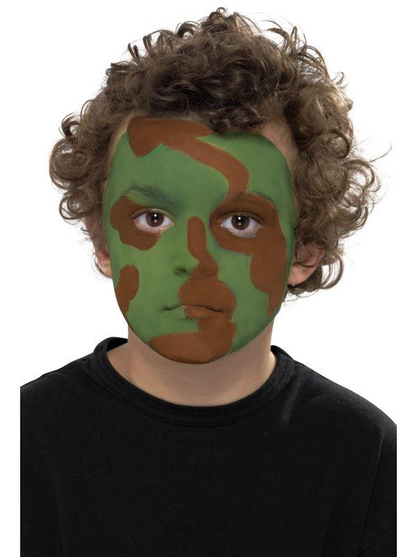 Déguisement Maquillage; Déguisement Militaire et Soldat; Déguisement  Visages; Costume Mardi Gras