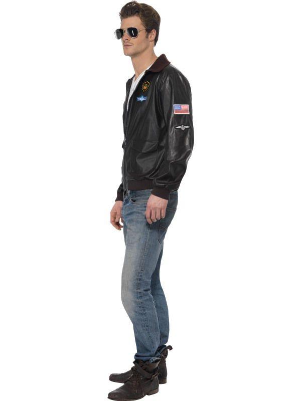 Top Gun Plus Size Jumpsuit Costume for Men  Top Gun Mens Outfit
