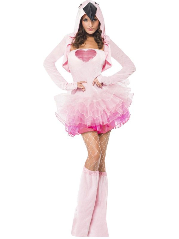 Complet Costume Flamand Rose Sexy - Déguisement Femme Adulte Le  RB92
